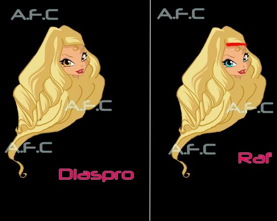 Diaspro et Raf