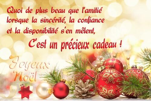 Joyeux Noël mes ami (es)