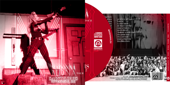 The MDNA Tour - Live in St-Louis Audio