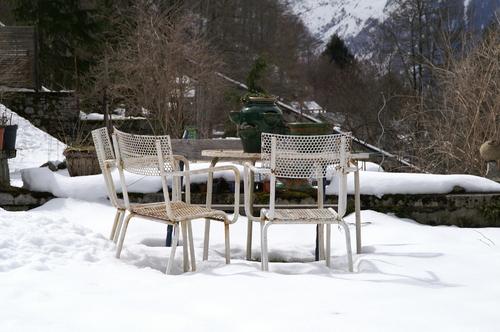 Neige de printemps
