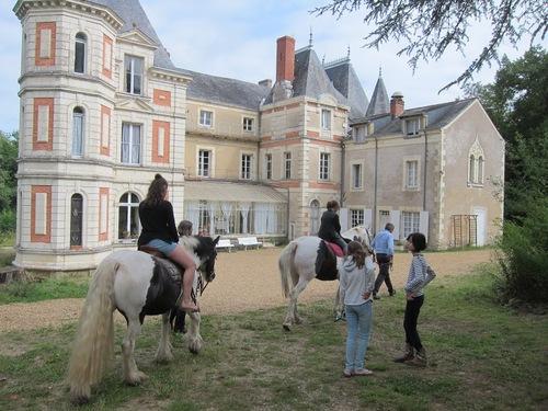Vacances au château de Grésillon