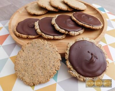 Biscuits façon granolas maison ( sans sucre ajouté )