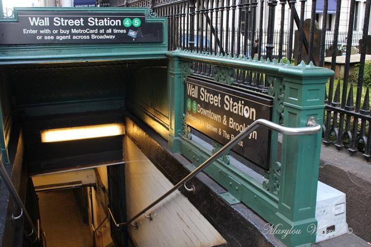 New-York : Le métro