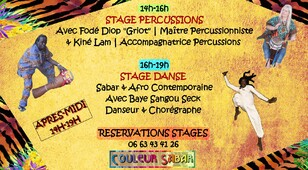 ★ Dates Events Couleur Sabar [Janvier - Février - Mars 2020]