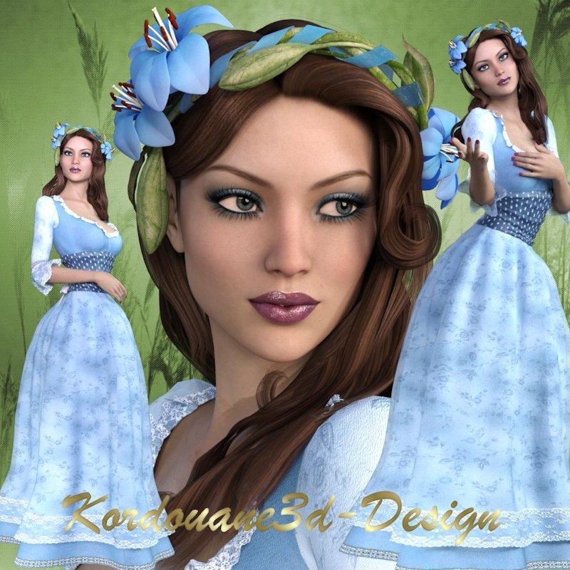 Fleurine : Princesse des champs printaniers