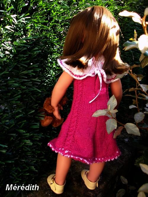 Mérédith et sa nouvelle robe !
