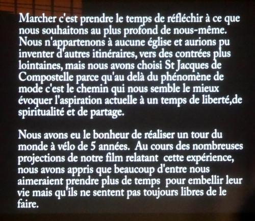 """Une projection-échange sur un voyage sur les """"Chemins de Compostelle"""" proposée par la  Bibliothèque Municipale"""