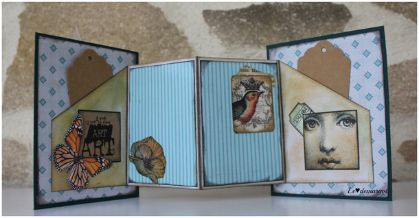 Scrap / Une carte pop up
