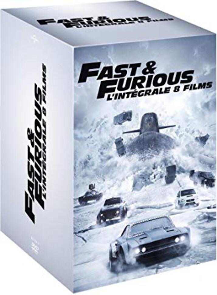 Résultats de recherche d'images pour «Fast and Furious - L'intégrale»