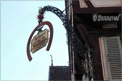 Enseigne de magasin Colmar Haut-Rhin Alsace