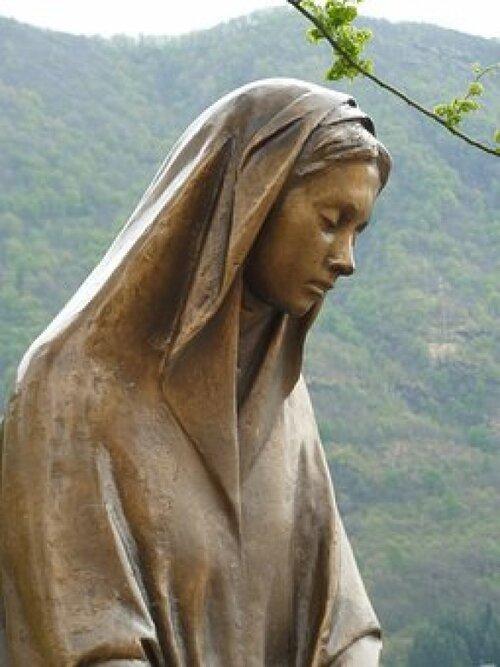 Prière à la Vierge...