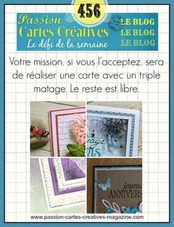 Passion Cartes Créatives #456