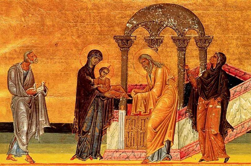 Fête de la purification de la Vierge Marie