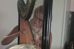Héloïse à la harpe
