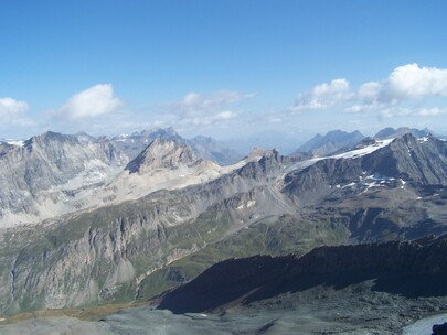 panorama Aiguille Pers