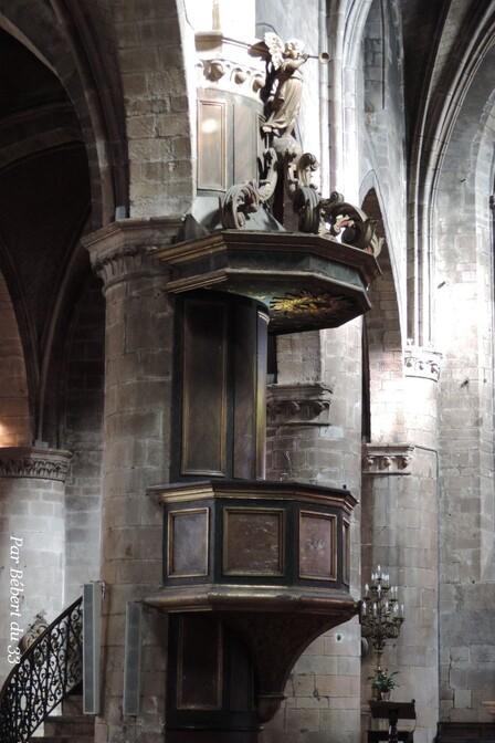 l'église Saint Michel des Lions à Limoges