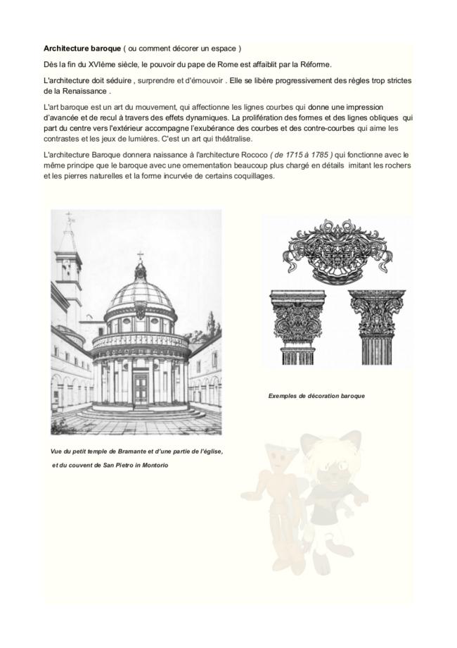 brève histoire de l'architecture