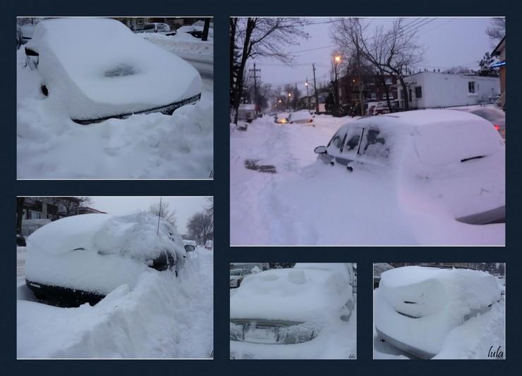 Notre neige québécoise...