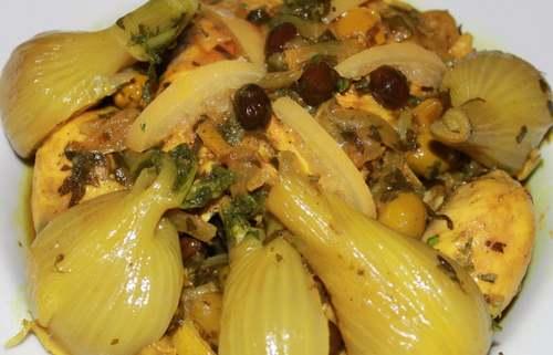 Recette de Cuisine : Tajine de poulet au fenouil