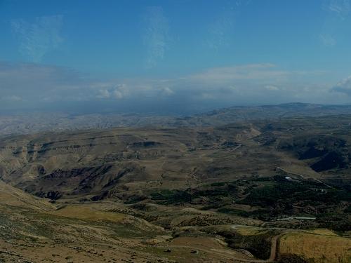 Jordanie ,le Mont Nébo « la terre promise.......»