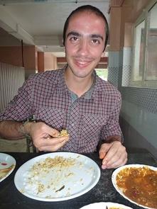 Repas à l'indienne