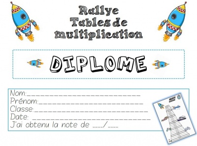Rallye tables de multiplication