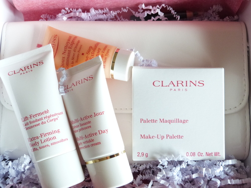 Glossybox Clarins, une box qui me gâte...