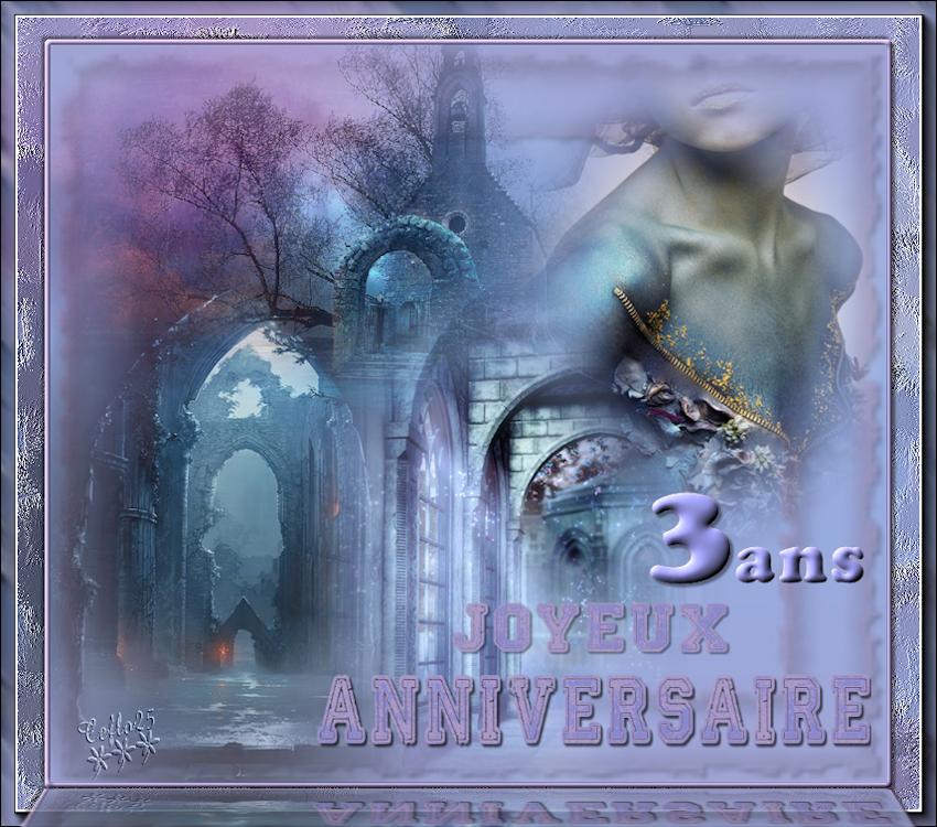 Cadeaux pour l'anniversaire des 3 ans du forum, merci à tous