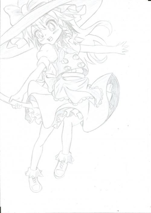 Marisa(Touhou)[DESSIN]