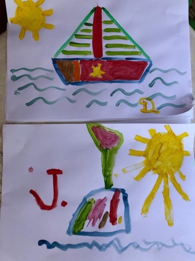 Julien, jeune artiste peintre
