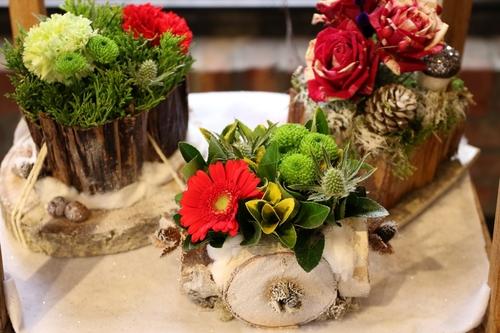 Art floral à école de promotion sociale