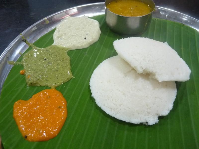 L'Inde du sud, on petit-déjeune