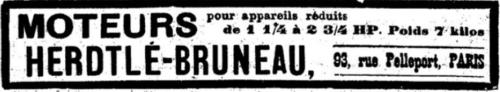 Herdtlé-Bruneau prennent l'air (et l'eau...)