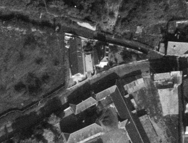 Bernay, rue Anne de Ticheville en 1962 (remonterletemps.ign.fr)