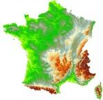 La France : ses frontières et son relief
