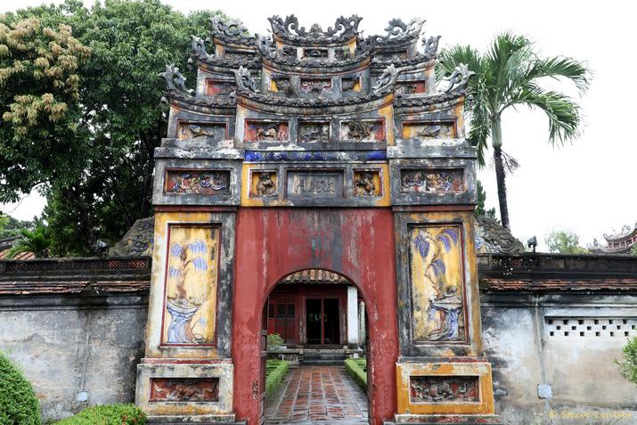 Cité impériale : le temple de la Résurrection Hung Miếu