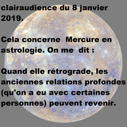 clairaudience du 8 janvier 2019