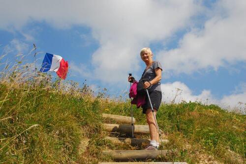Les derniers escaliers, enfin le sommet