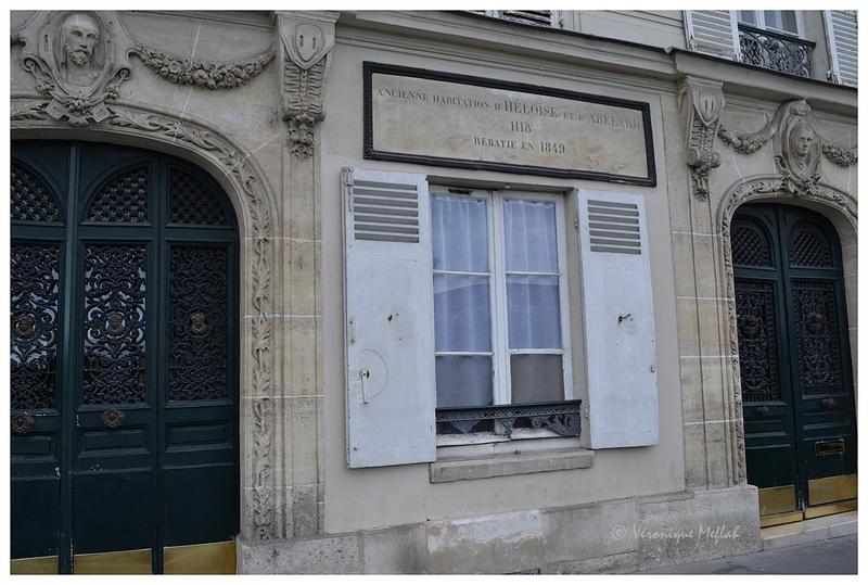 La maison d'Héloïse et d'Abélard, l'île de la Cité