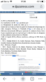 2007 Le MCA en Coupe du Monde des Clubs de HandBall