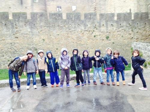 Visite de la cité de Carcassonne CP et Ce1