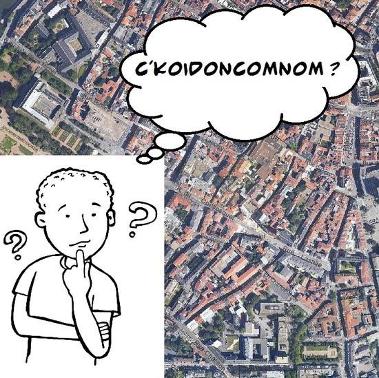 les différents quartiers -  CKOIDONCOMNOM