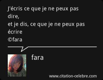 J'ECRIS.......