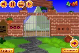 Jouer à AVM Bubble monkey escape