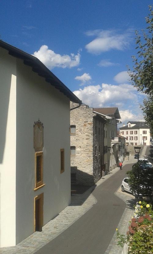 """Le quartier de """"La Bâtiaz"""""""