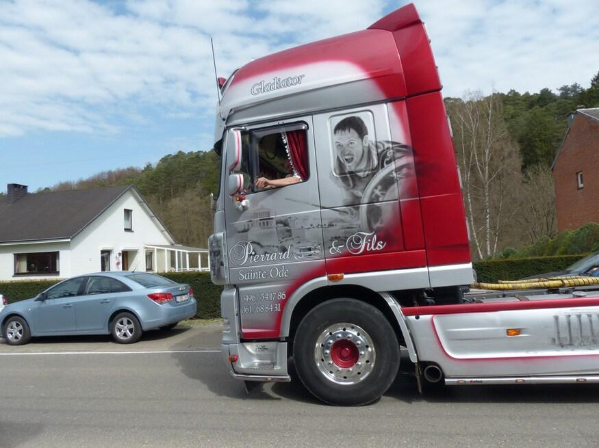 De beaux camions...