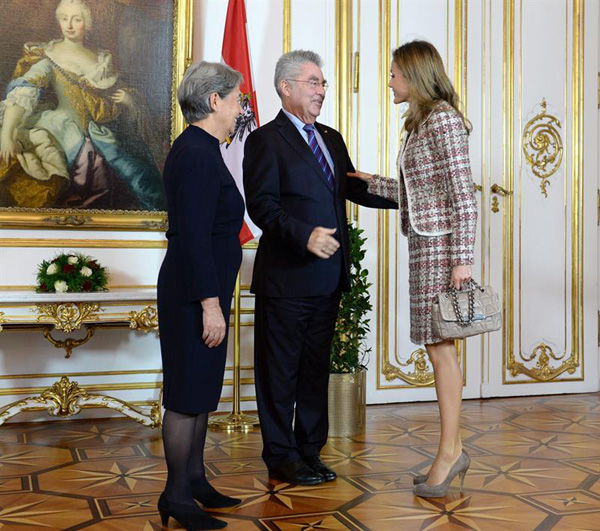 Letizia à Vienne
