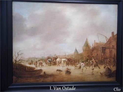 """Les Patineurs"" - Isaac Van Ostade"