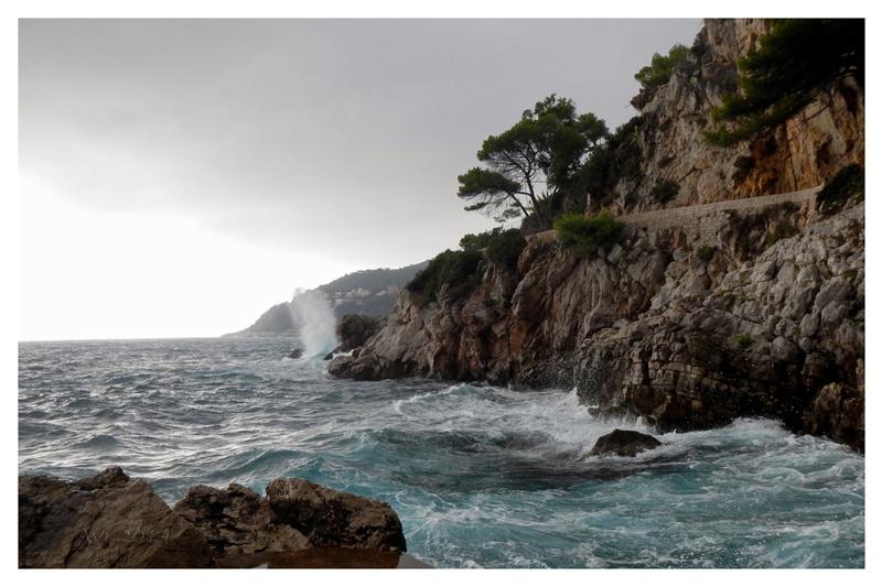 Sentier côtier de St Jean Cap Ferrat