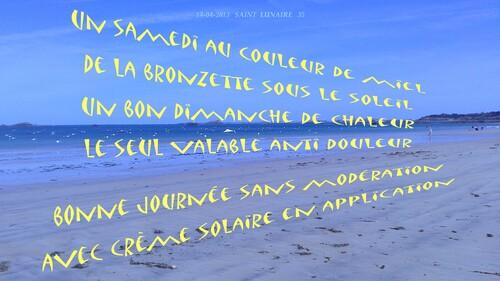 REFLEXION DE LA SEMAINE   07/07/2013
